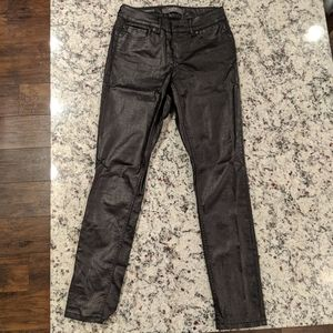 The Limited Faux Leather Jeans size 4R